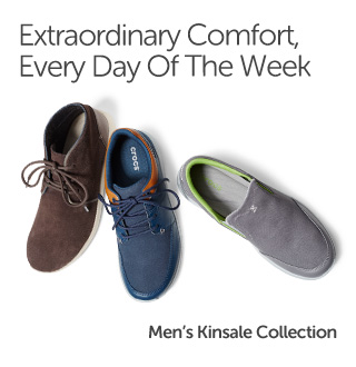 Extraordinary Comfort, Every Day Of The Week. Men's Kinsale Collection.