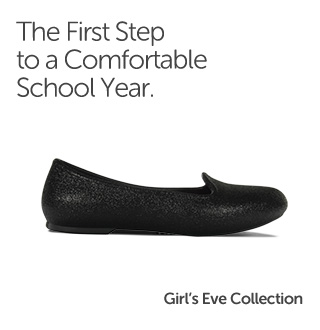 The first step to a comfortable school year. Girls' Eve Collection