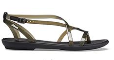 Sandales gladiateur Isabella de Crocs pour femmes