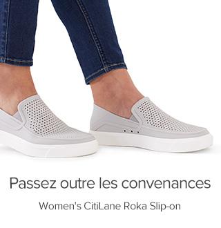 Poke Holes in Convention. Women's CitiLane Roka Slip-on