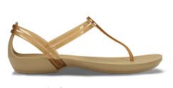 Sandales à brides en T Isabella de Crocs pour femmes