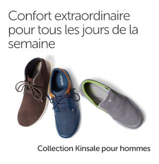 Confort extraordinaire pour tous les jours de la semaine. Collection Kinsale pour hommes.
