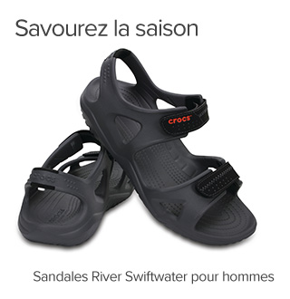 Splash Into The Season. Men's Swiftwater River Sandals