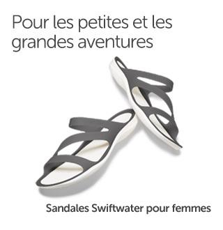 Pour les petites et les grandes aventures. Sandales Swiftwater pour femmes.