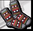 Jibbitz chaussettes d'hiver.