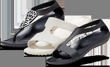 Tongs enjolivées Serena de Crocs pour femmes, mules Serena de Crocs pour femmes, sandales Serena de Crocs pour femmes