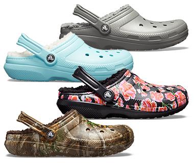 Shop Fuzz-lined Crocs