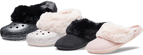 Classic Mammoth Luxe Shearling Lined Clog & Classic Slipper